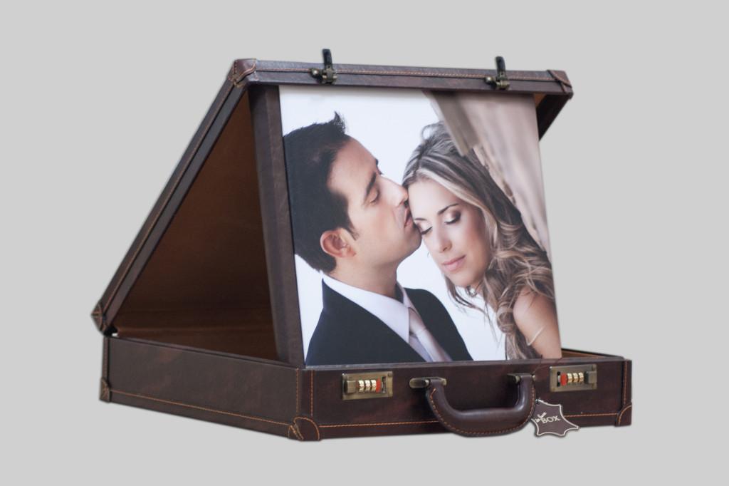 Сватбен албум за снимки в размер 35х35